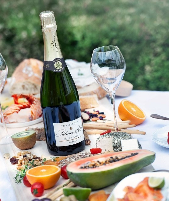 Champagne Brut Réserve en étui