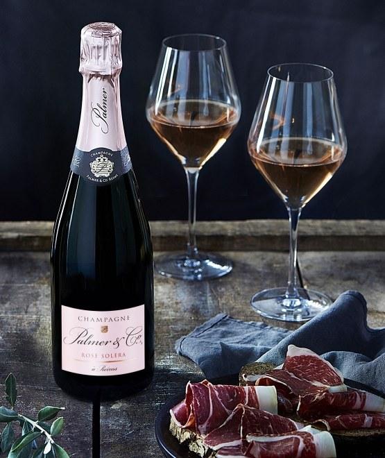 Champagne Rosé Solera en étui