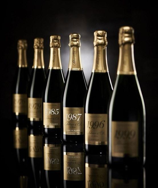Champagne Vintage Blanc de Blancs 1985 en coffret