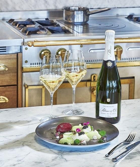 Champagne Blanc de Blancs Magnum en étui