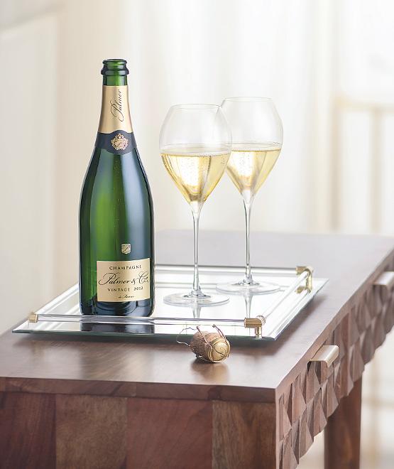 Champagne Vintage 2012 en étui