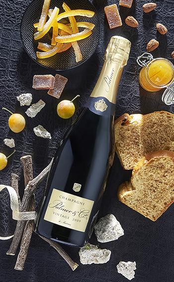 Champagne Vintage 2008 Magnum en étui - Mise en situation
