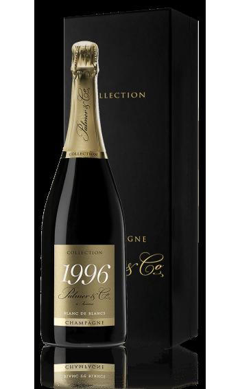 Champagne Vintage Blanc de Blancs 1996 Magnum en coffret