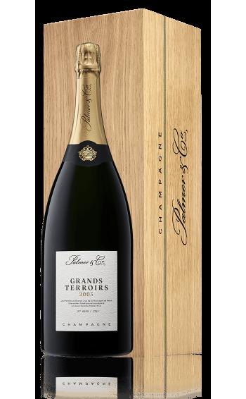Champagne Grands Terroirs 2003 Magnum en coffret