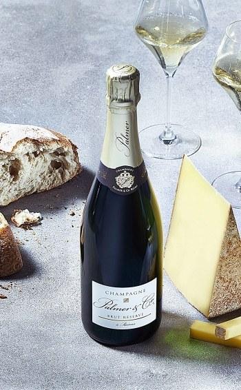 Champagne Brut Réserve Magnum en étui - Mise en situation