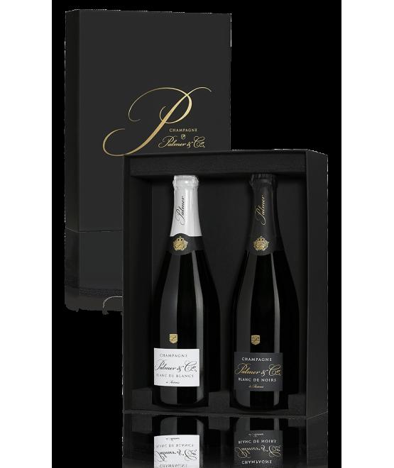 Coffret Champagne Duo Black & White