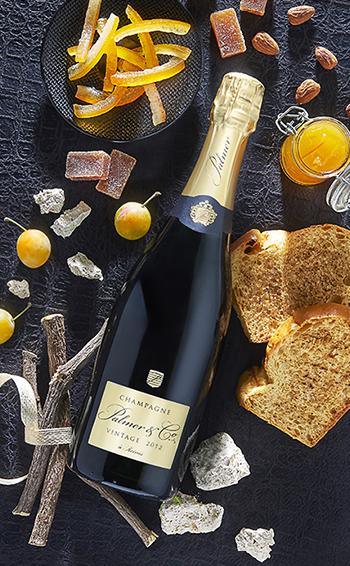 Champagne Vintage 2012 en étui - Mise en situation