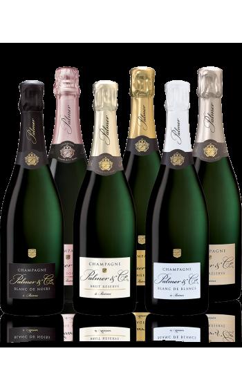 Coffret Champagne Découverte 6 bouteilles - Mise en situation