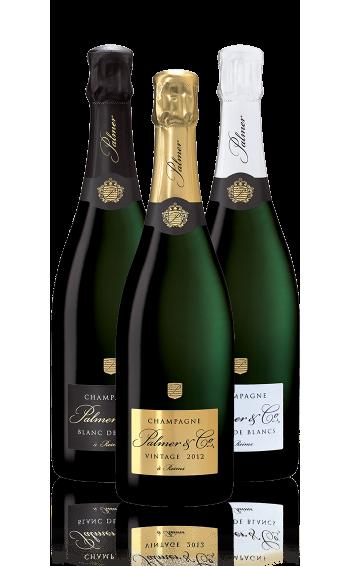 Coffret Champagne Spécialités 3 bouteilles - Mise en situation