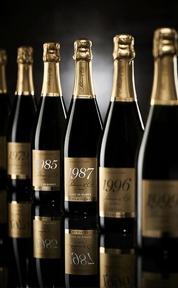 Champagne Vintage 1999 en coffret - Mise en situation