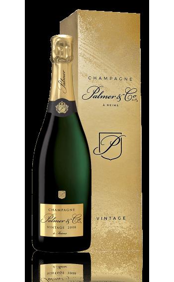 Champagne Vintage 2008 Magnum en étui