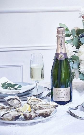 Champagne Extra Réserve - Mise en situation