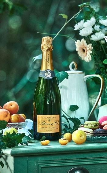 Champagne Nectar Réserve en étui - Mise en situation
