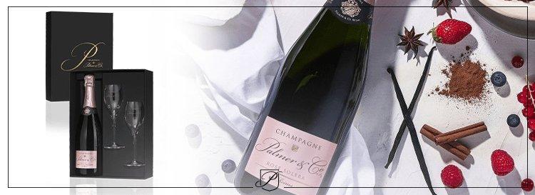 Champagne Rosé anniversaire
