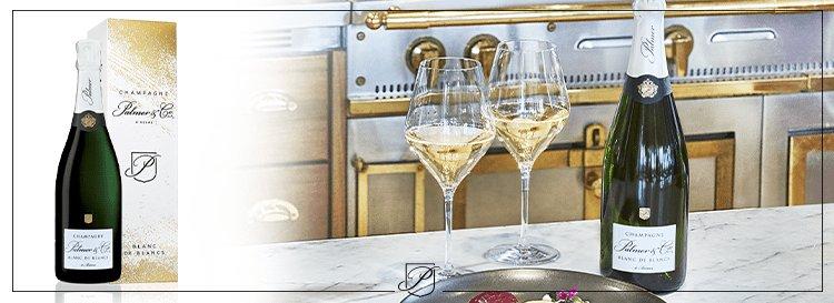 Champagne Blanc de Blancs Noël