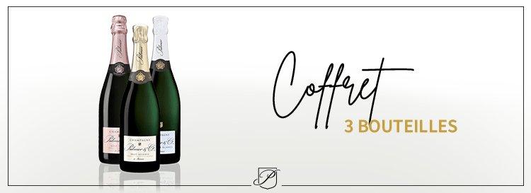Coffret 3 bouteilles Champagne