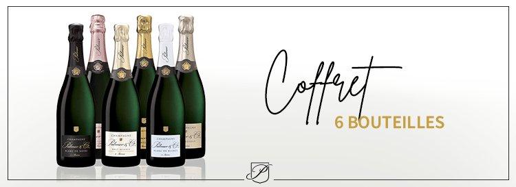 Coffret 6 bouteilles Champagne
