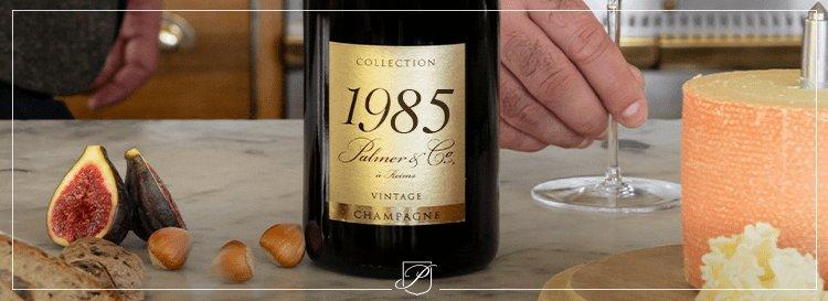 Le bon met pour le vintage 1985 Palmer & Co