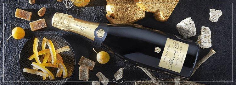 Accord mets-vins : le champagne vintage 2000 Palmer & Co