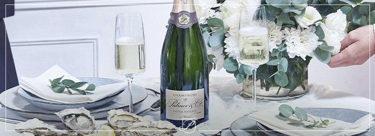 Quel accompagnement proposer avec du champagne en apéritif