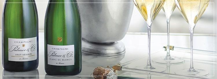 Champagne Brut Réserve ou Blanc de Blancs : le plaisir et la signature Palmer & Co
