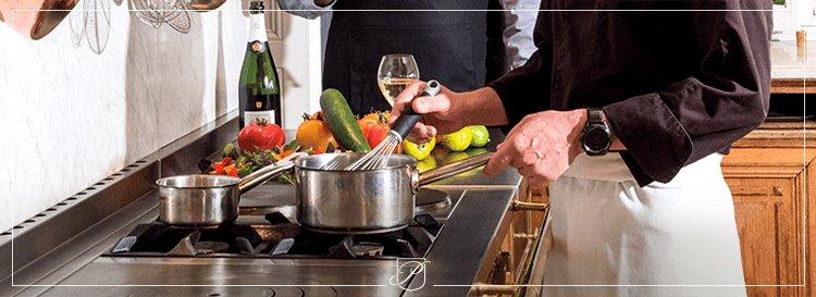 La proposition de Damien Litaudon : une recette de carpaccio de langoustines au kombu pour sublimer le champagne Blanc de Blancs