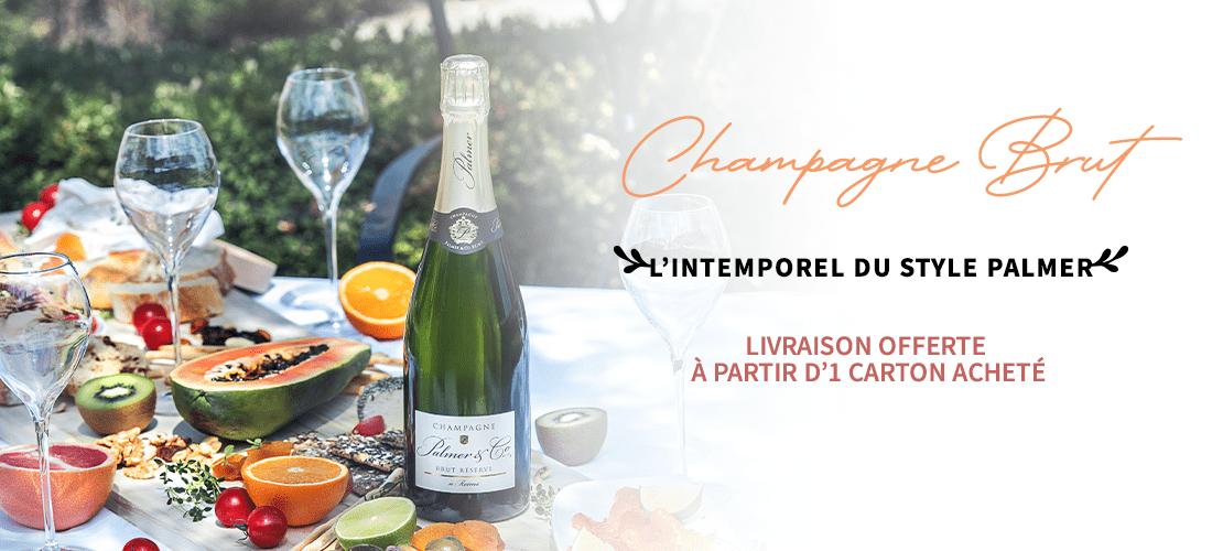 Champagne Brut : L'intemporel du style Palmer